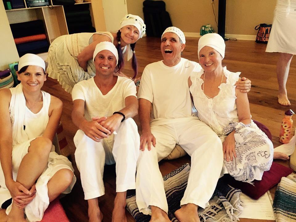 Happy students at Great Divine Flow Yoga Studio in Vista, CA (Yoga Teacher Training)